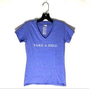 The North  Face Women's Take a Hike T Shirt Sz XS